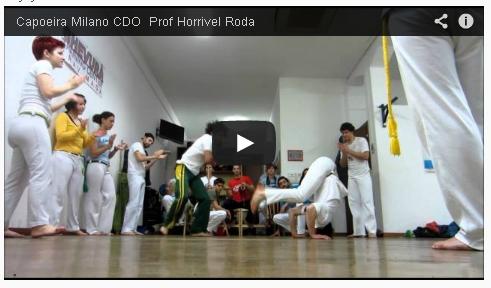 video capoeira milano